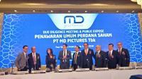 IPO, MD Pictures Tawarkan Harga Saham Rp210 Lembar