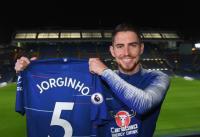 Jorginho Resmi Berseragam Chelsea