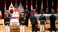 AS Bahas Pemulangan Tulang Belulang Tentaranya saat Perang Korea