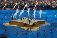 Kemeriahan Penutupan Piala Dunia 2018 Jadi Tanda Mulainya Laga Final Prancis vs Kroasia
