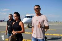 Cristiano Ronaldo Telah Tiba di Turin