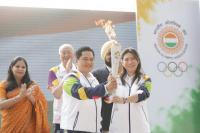 Kirab Obor Asian Games 2018 Resmi Dimulai dari India