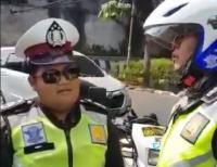 Viral Video Polisi Gadungan Terciduk Lakukan Pungli di JLNT Casablanca