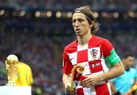 Luka Modric Rebut Penghargaan Golden Ball Piala Dunia 2018