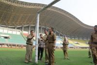Jelang Asian Games 2018, Pj Gubernur Jabar Cek Kesiapan Stadion Candrabhaga