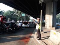 Lalu Lintas Kendaraan di Blok M dan Slipi Ramai Lancar pada Selasa Pagi Ini