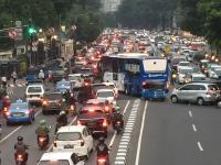 Jam Pulang Kerja, Begini Arus Lalin di Sejumlah Jalan Ibu Kota