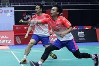 Fokus Sejak Awal Laga Jadi Kunci Ahsan Hendra Melaju ke Semifinal Singapura Open 2018