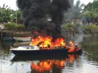 <i>Speedboat</i> Setda Raja Ampat Meledak, 2 Orang Terluka Bakar