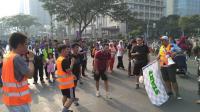 Kesempatan Raih Tiket Okezone Run With Idol Gratis lewat Lomba Sprint Race di CFD