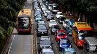 Jam Pulang Kerja, Lalu Lintas di Sebagian Wilayah Ibu Kota Ramai Lancar