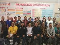 KPUD Tangsel Nyatakan Seluruh Bacaleg Partai Perindo Memenuhi Syarat