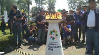 Jalur Utama Garut Ditutup Selama Kirab Obor Asian Games