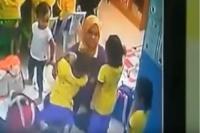 Viral! Guru TK Aniaya Murid Terekam CCTV
