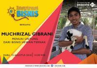 Kisah Rizal Banting Setir, dari Pekerja Kantoran Jadi Penjual Kambing Beromzet Rp100 Juta