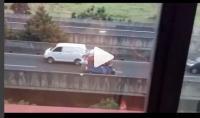 Video Bajaj Nekat Lawan Arah di Jalan Layang Casablanca Bikin Geram
