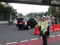 Libur 17 Agustus, Lalin Kendaraan di Jakarta Pusat Tetap Ramai Lancar