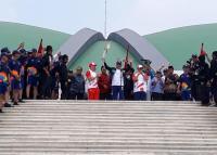 Obor Asian Games 2018 Mampir ke Gedung DPR/MPR