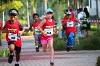 Berlaga bak Atlet, Intip Keseruan Anak-Anak Bule Ikutan Ironkids