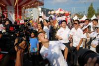 Manajemen MMKSI Meriahkan Lomba HUT Kemerdekaan Ke-73 RI di Arena TORH