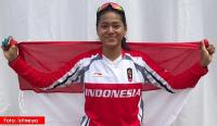 Potret Peraih Emas ke-3 Indonesia di Asian Games, Tiara Andini yang Punya Senyum Manis Banget!