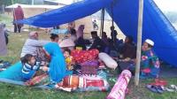 Lombok Timur Diguncang Gempa 6,9 SR, Lapangan di Mataram Penuh Pengungsi