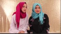 Sontek Gaya Hijab Nissa Sabyan & Aurel Hermansyah untuk Idul Adha, Ini Tutorialnya