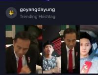 Viral di Tik Tok, Goyang Dayung ala Jokowi Bikin Heboh