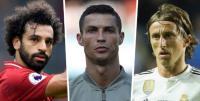 Salah, Ronaldo, dan Modric Bersaing untuk Pemain Terbaik Eropa 2018