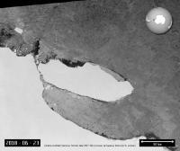 ESA Tangkap Pencairan Gunung Es Besar di Antartika