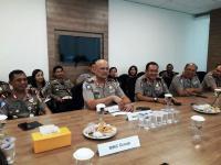 Silaturahmi, Kakorlantas Polri Kunjungi Kantor MNC Media
