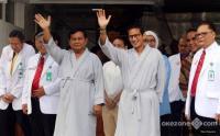 Koalisi Prabowo-Sandi Daftarkan Tim Pemenangannya ke KPU Hari Ini