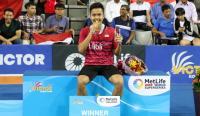 5 Pemenang Terkini di Nomor Tunggal Putra Bulu Tangkis Korea Open