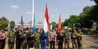 """Pawai Bendera HUT Ke-73 TNI di Yogyakarta Diamankan """"Milisi Keraton"""""""