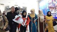 Pulang Kampung, Miftahul Jannah Disambut Meriah Warga Aceh