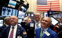 Wall Street Menguat Ditopang Saham Blue Chips