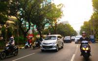 Lalu Lintas Jalan Kebon Sirih dan Jalan Merdeka Selatan Ramai Lancar
