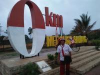 Kisah Damin Tunaikan Nazar Keliling Indonesia Naik Sepeda Ontel