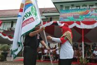 Begini Keseruan Event Kirab Pemuda di Sambas