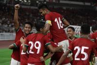 Indonesia Unggul 1-0 atas Hong Kong di Babak Pertama