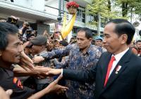 Jokowi Buka Kongres Persi di JCC Senayan