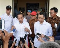 Tiba di Lombok, Jokowi Langsung Pimpin Rapat Rehabilitasi dan Rekonstruksi