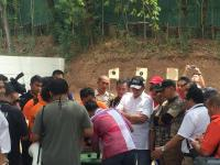 Bambang Soesatyo Hadiri Reka Ulang Peluru Nyasar ke Gedung DPR