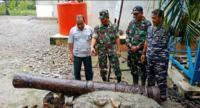 Babinsa dan Warga Selamatkan Benda Bersejarah Kerajaan Kuta Batu di Aceh