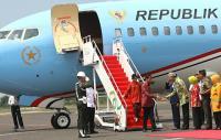 Jokowi Tiba di Jawa Tengah, Rencananya Bakal Keliling ke Sejumlah Pesantren