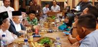 Ma'ruf Amin: Maju Dampingi Jokowi Bukan untuk Kekuasaan, Tapi Perdamaian