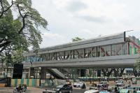 Jembatan Penyeberangan Multiguna Akan Terintegrasi ke Stasiun Tanah Abang