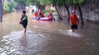 Banjir Indragiri Hulu Mulai Surut, BPBD Riau Ingatkan Warga Tetap Waspada