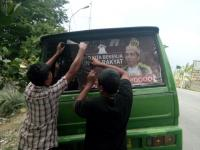 "PDIP Demak Sisir Angkot dan Kampung Cari Poster ""Raja Jokowi"""