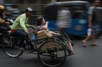 """""""Beol Cepirit"""", Becak Online yang Diklaim Siap Mengaspal di Jakarta"""